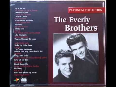 에벌리 브라더스(The Everly Brothers) :  Platinum Collection 20 songs