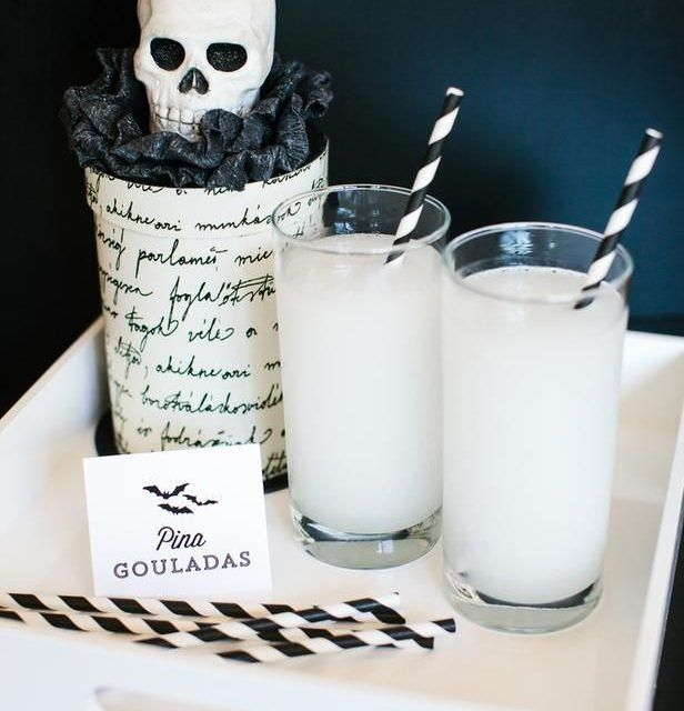 The dangerously delicious pina gouladas are a must try #dessert - halloween cocktail ideas