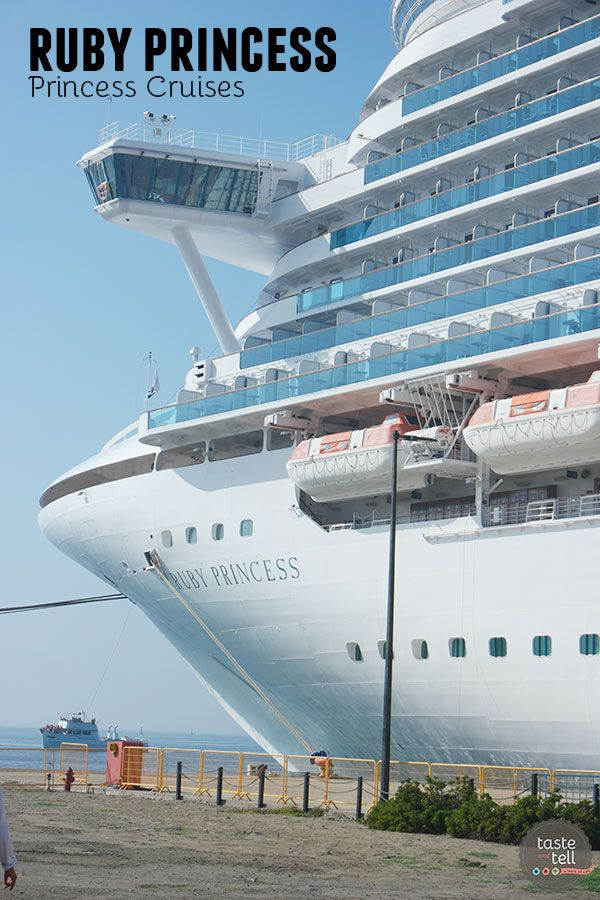 A look at the Ruby Princess