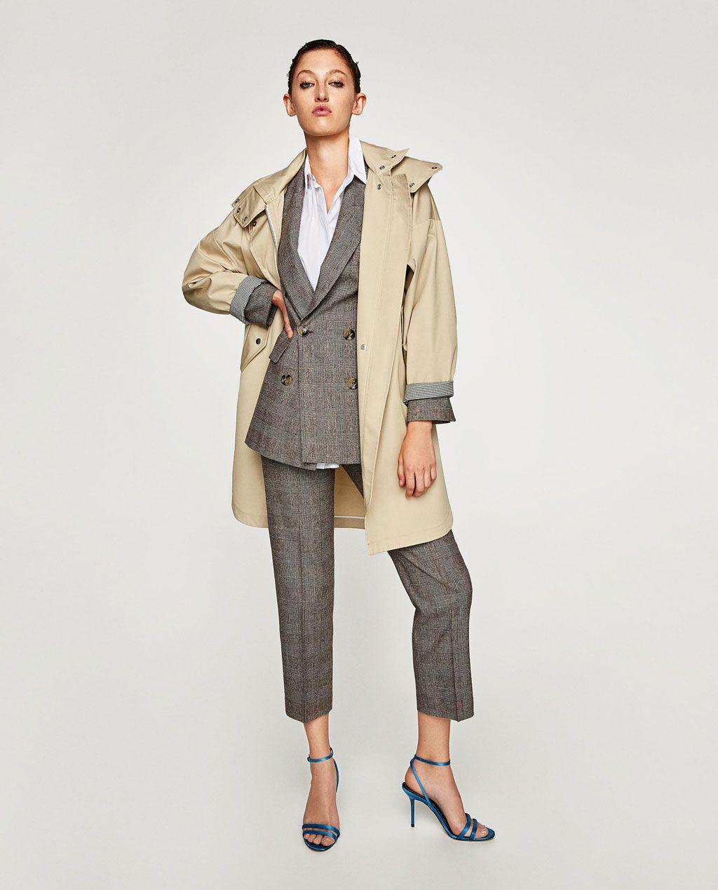Perlen jacket zara