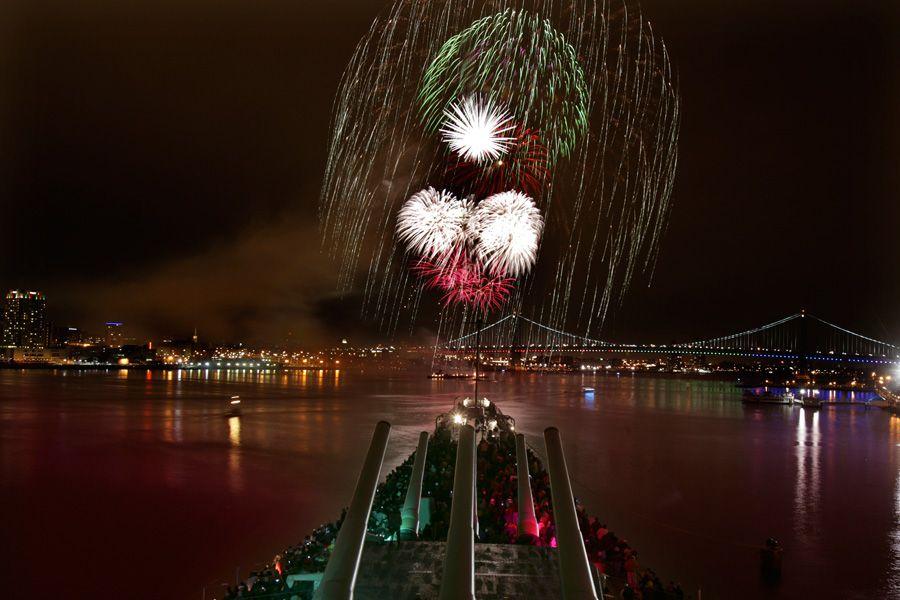 New Year S Eve Fireworks In Philadelphia New Years Eve Fireworks Visit Philadelphia New Year Celebration