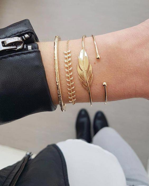 30 Bracelets Ideas For women #CheapClothesThatLookExpensive