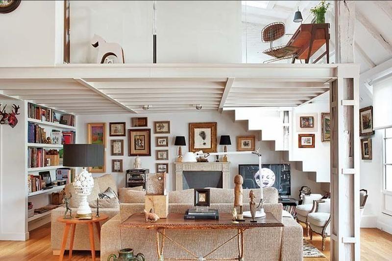 12 superbes idées pour décorer un salon mansardé Mansardé