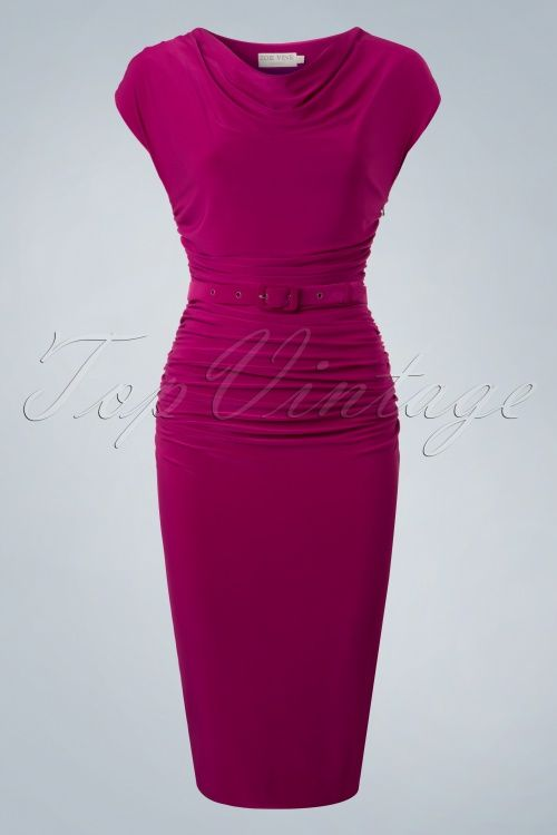 Zoe Vine Billie Purple Pencil Dress 100 22 20150 20170203 0025w