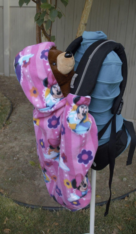 69254676105 Front Baby Carrier Fleece Winter Cover