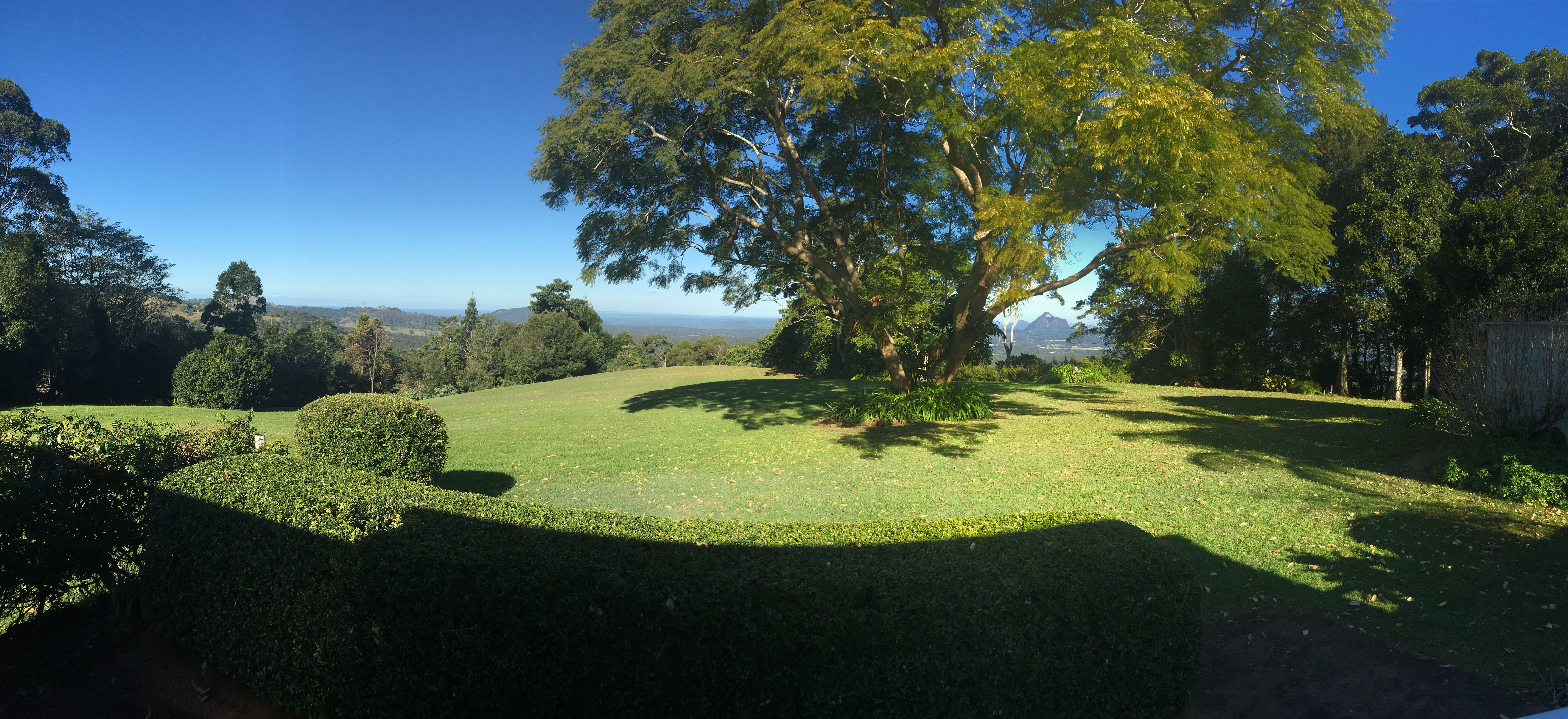 Backyard To The Bails On Mountain View Short Stay Accommodation In Maleny Queensland