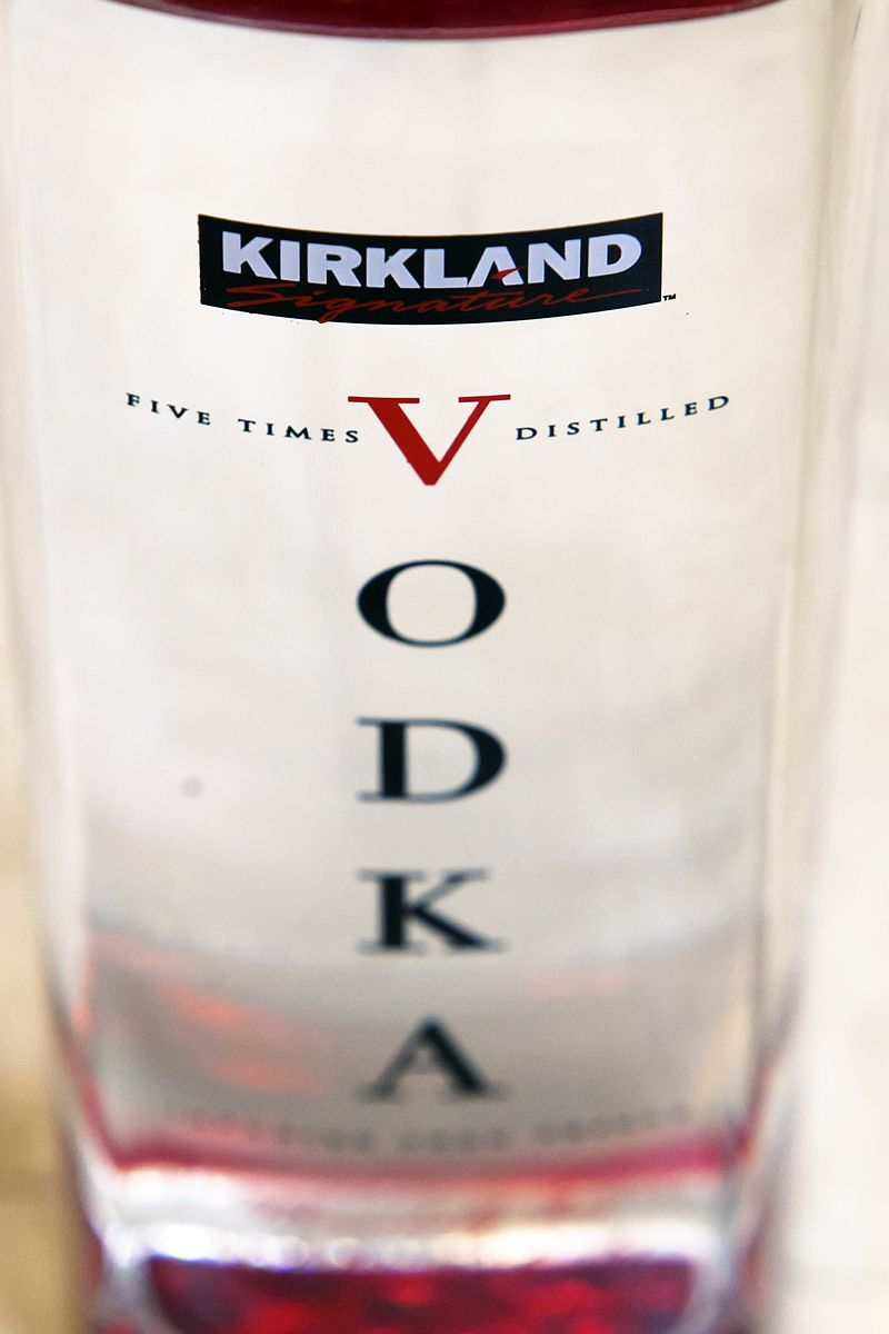 Kirkland Signature Vodka from Costco. Better than Grey Goose, half ...