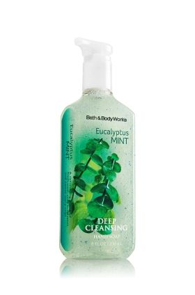 Eucalyptus Mint Deep Cleansing Hand Soap Bath Body Works