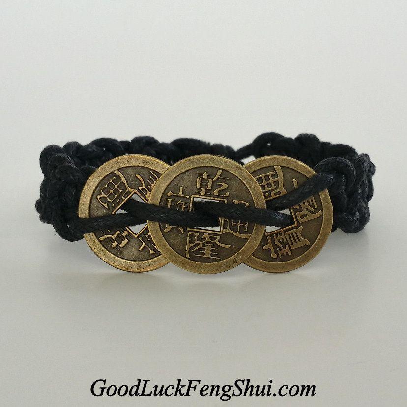 Good Luck Chinese Coins Bracelet Https Twitter Goodluckfengshu