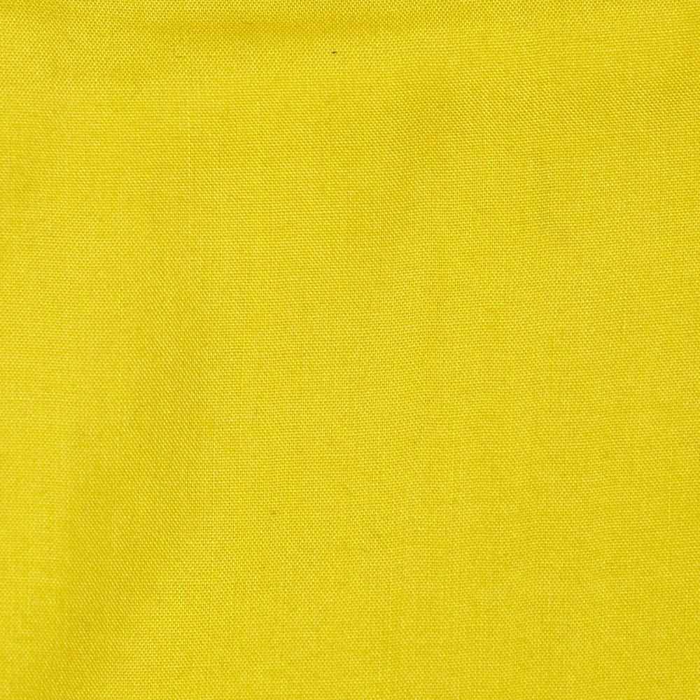 Rayon Challis Yellow from @fabricdotcom  This rayon challis fabric has a smooth luxurious hand and soft, liquid drape. Perfect for fuller skirts & dresses, blouses, shirts, scarves and tunics.