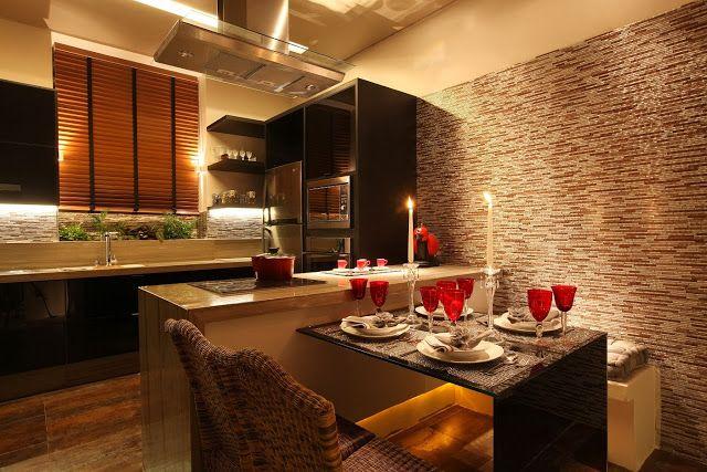 Cocinas modernas para espacios peque os modern kitchens by for Cocinas para espacios pequenos