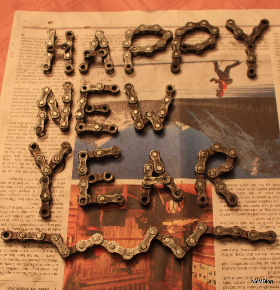 Happy New Year Bike Chain!    http://nymblog.com/happy-new-year-biking-community/#.UOGd1W80WSo