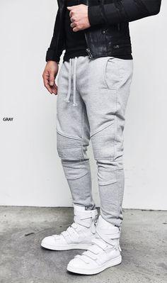 09bd81939 Calça jogger - jogger pants (2) –Homens com estilo
