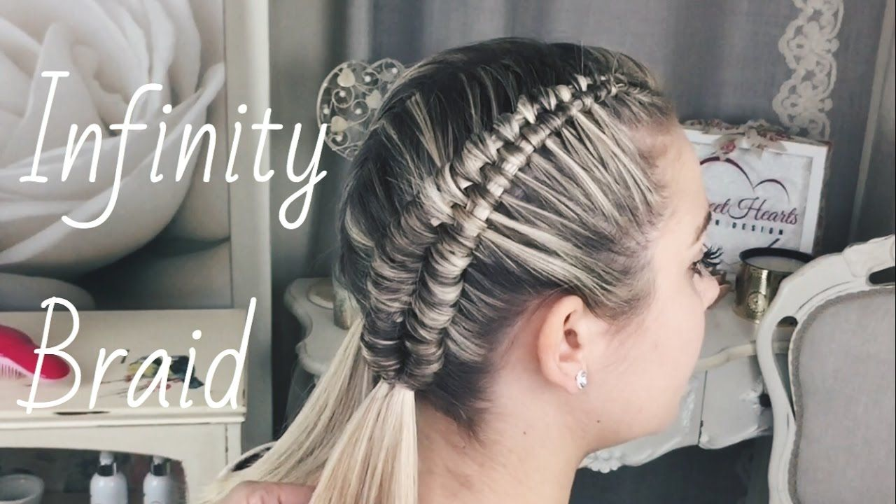 how to: infinity braid by sweethearts hair design | hair