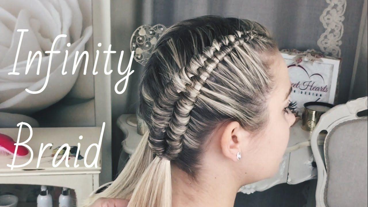 the 25+ best infinity braid ideas on pinterest | infinity braid