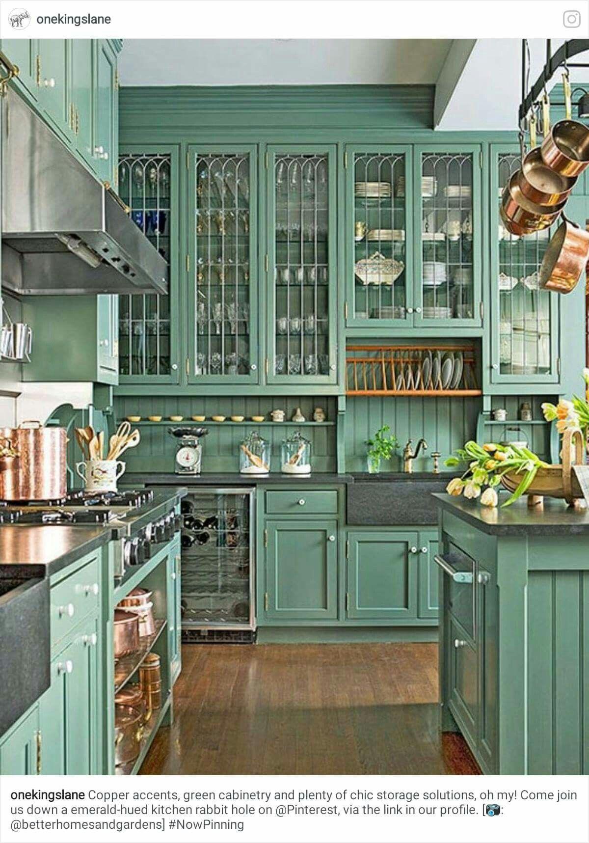 Pin von Yonnie Smith auf Stylish Kitchens - Modern/Traditional Look ...