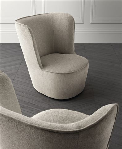 Baby royale the new elegant comfortable small armchair for Small comfy armchair