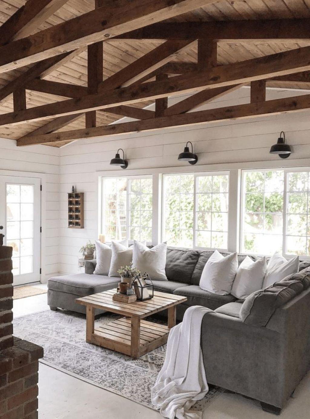 Get Home Design Ideas: The Best Rustic Living Room Decor Ideas 15