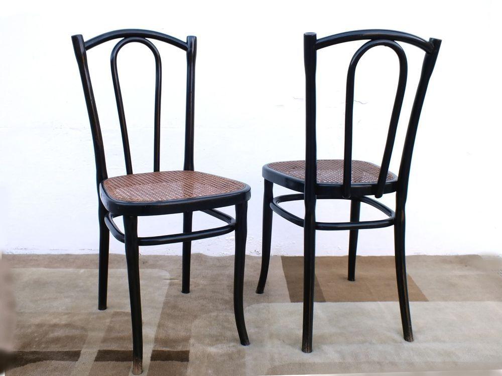 Italhome Sedie ~ Sedie thonet in legno faggio color noce e paglia di vienna sedie