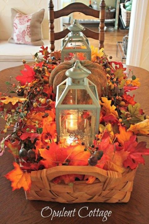 ComfyDwelling » Blog Archive » 30 Beautiful Fall Leaves Home