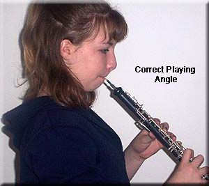 Correct playing angle for oboe embouchure | Oboe in 2019