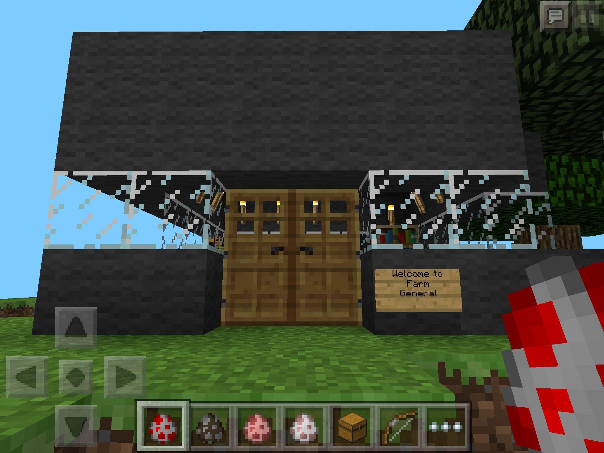 minecraft Outdoor decor, Outdoor, Decor