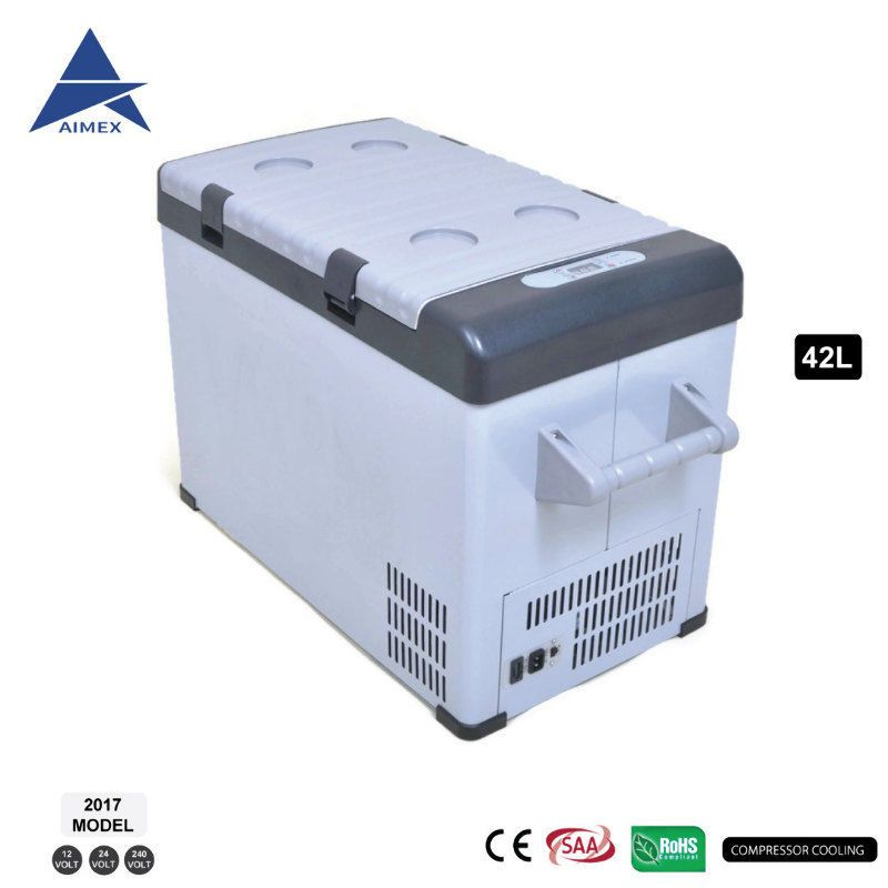 New 42l Car Boat Portable Fridge Freezer Cooler 12v 24v 240v Caravan Camping No1 Portable Fridge Cooler Caravan