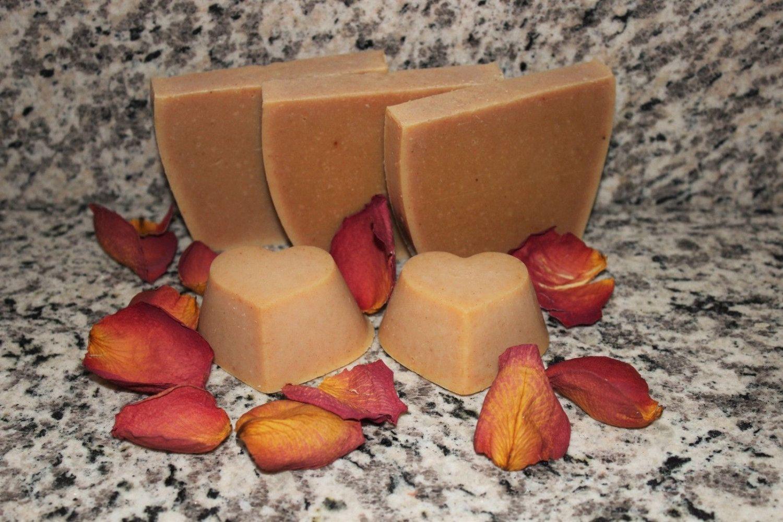 Turmeric Soap Frankincense Myrrh Handmade Lye Soap Acne