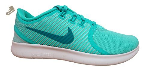 new styles 91d9c dd13f Nike Womens Free RN CMTR Running Trainers 831511 Sneakers Shoes (US hyper  turquoise green off white