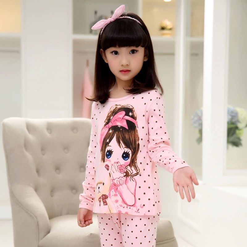 Find More Pajama Sets Information about Winter Girls Casual Velvet Pajamas  Kids f6f6eecd6