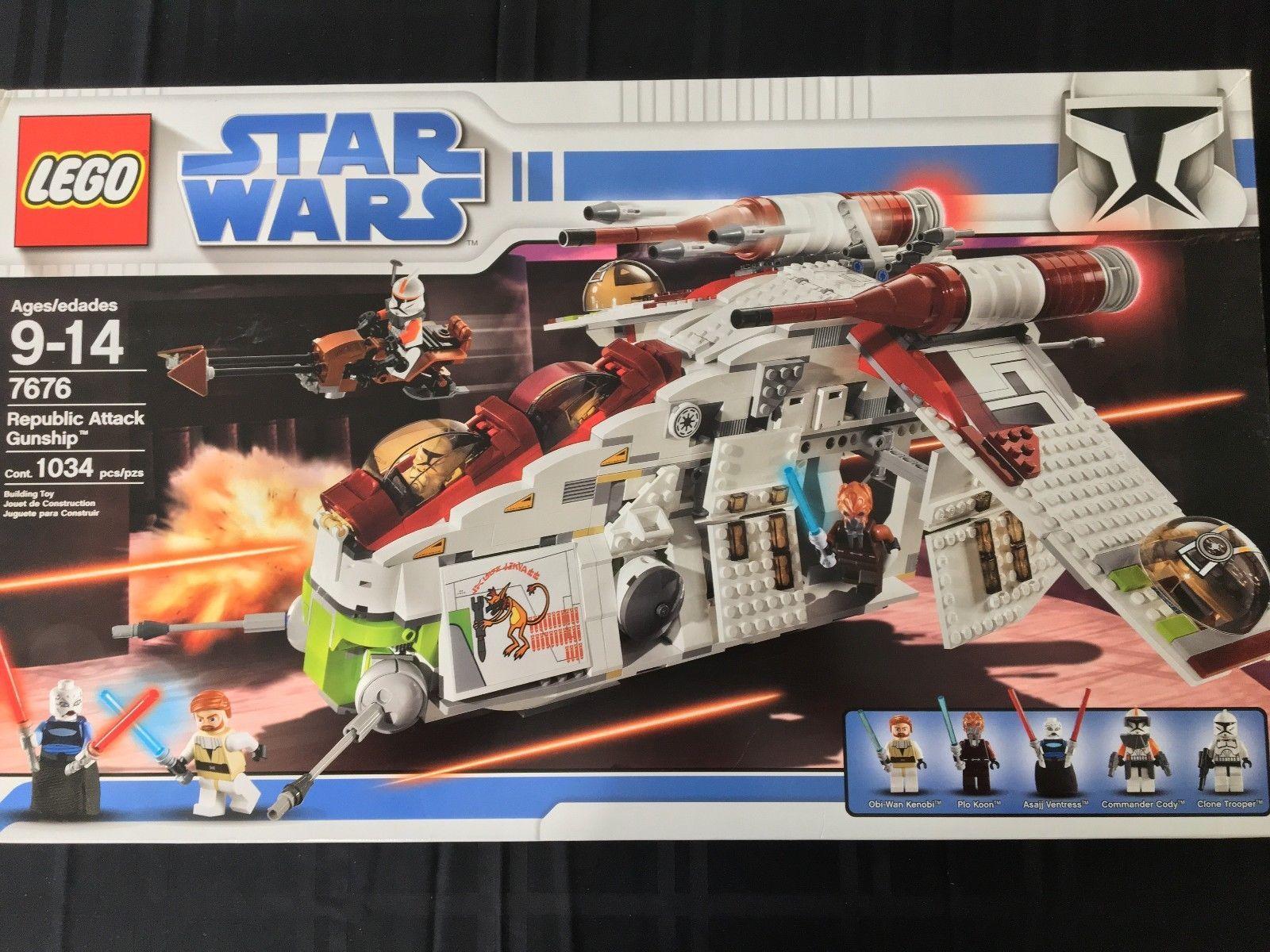 NEW LEGO Star Wars Phase 1 Clone Trooper w// Large Blaster 10195
