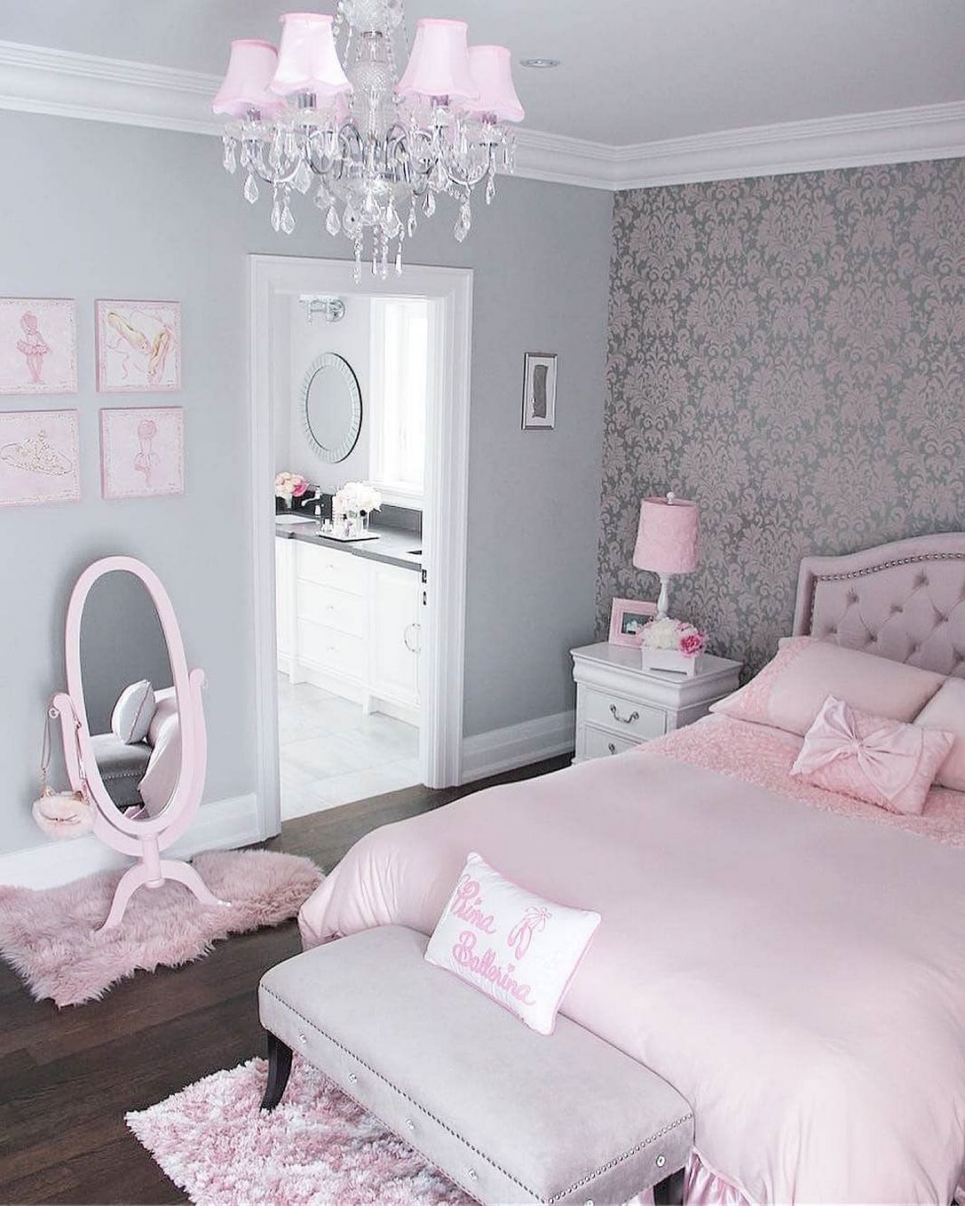 Bedroom Ideas Cream Furniture Shabby Chic Bedroom Yellow Bedroom Bench Blue Bedroom Wallpaper Ideas Grey: 90+ How To Completely Change Your Room To Vintage Princess