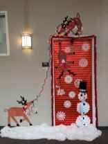 50 Simple DIY Christmas Door Decorations For Home And School (22 #christmasdoordecorationsforschool 50 Simple DIY Christmas Door Decorations For Home And School (22) #christmasdoordecorationsforschool