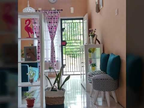 20 desain cantik ruang tamu rumah minimalis type 36