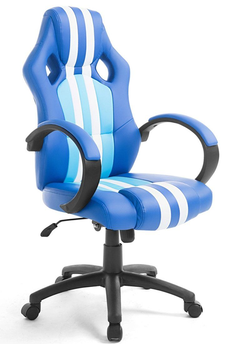 High back executive car racing gaming swivel office chair pu leather