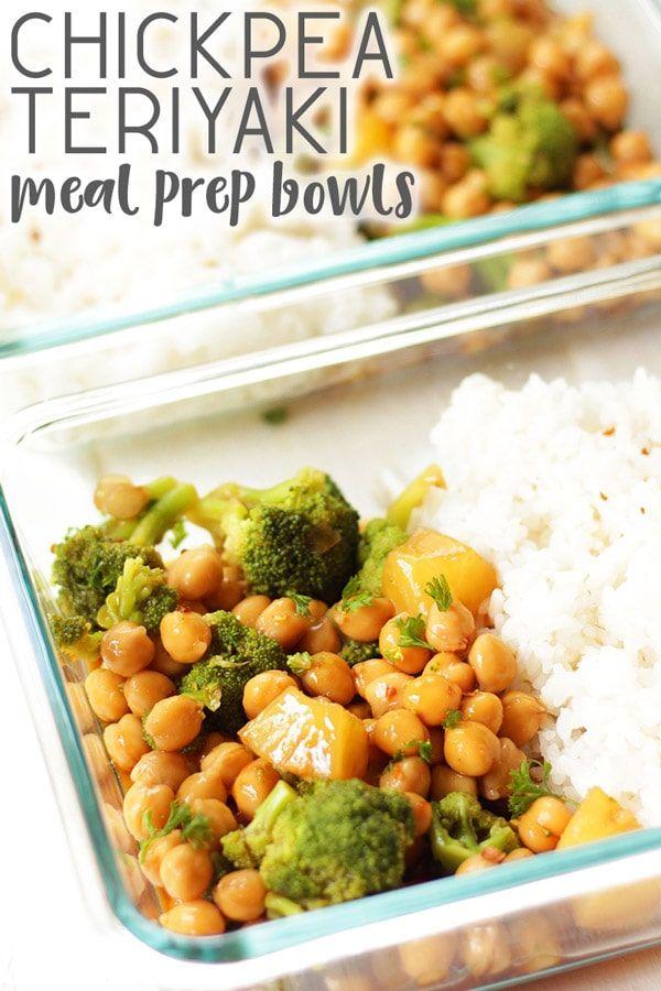 Vegan Teriyaki Meal Prep Bowls images