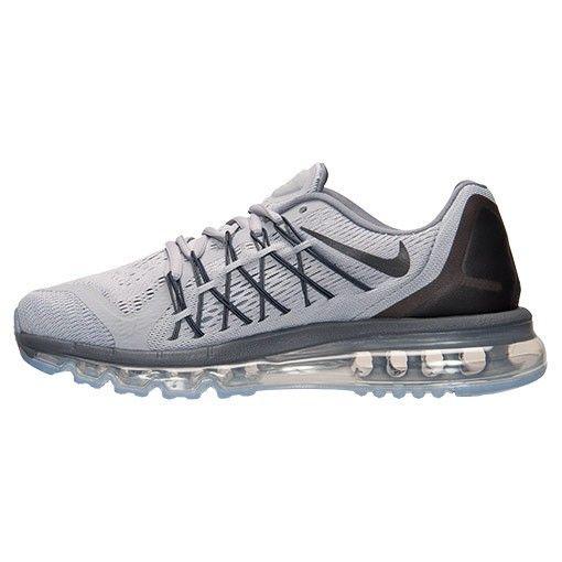 Nike Air Max 2015 Running Shoes For Mens Wolf Grey/Black/Dark Grey/