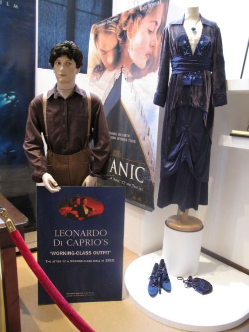 Robe And Ensemble Designed By Deborah L Scott Worn Kate Winslet Leonardo Di Caprio In Anic 1997 1912 He Told Her She Was Flying