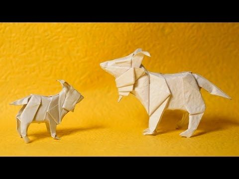Origami Goat Tutorial Henry Phm Youtube Origami Videos