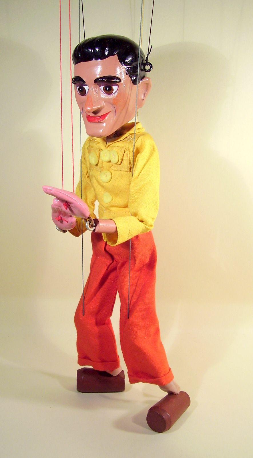Pelham Puppet Mike Mercury Gerry Anderson Supercar Supercar