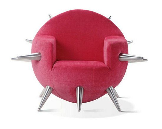 The Bomb - Cool and Funky Chair Design by Adrenalina | Bhouse on Wanelo