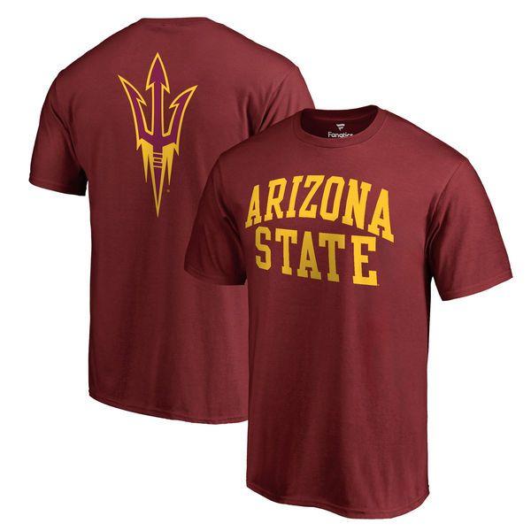 17773644 Arizona State Sun Devils Primetime T-Shirt - Maroon | Definitely my ...