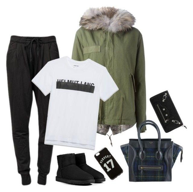 """""""Untitled #501"""" by victoriaandersen ❤ liked on Polyvore featuring Mr & Mrs Italy, Givenchy, Helmut Lang, UGG Australia, CÉLINE and Balenciaga"""