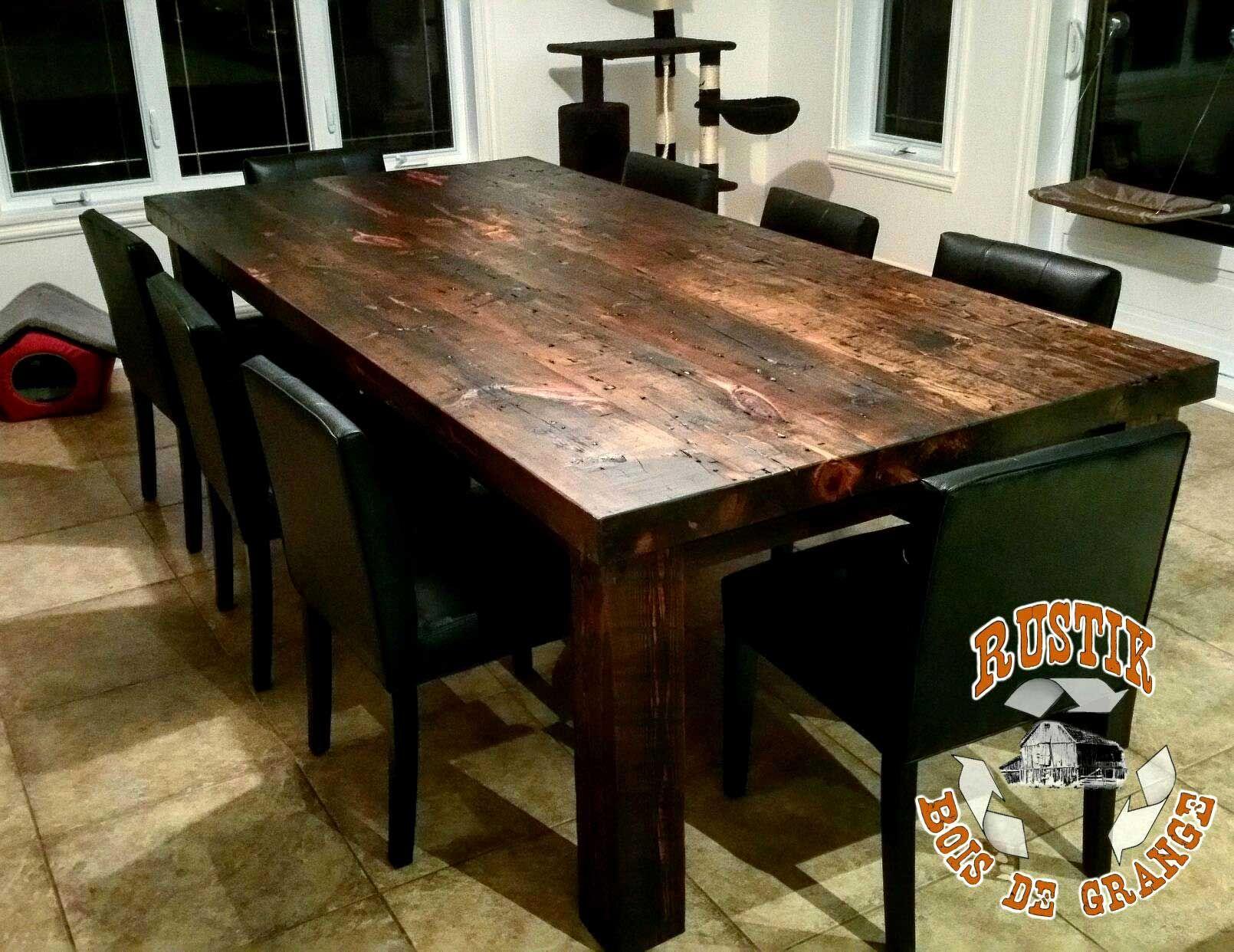 cuisine bois massif pas cher beau table