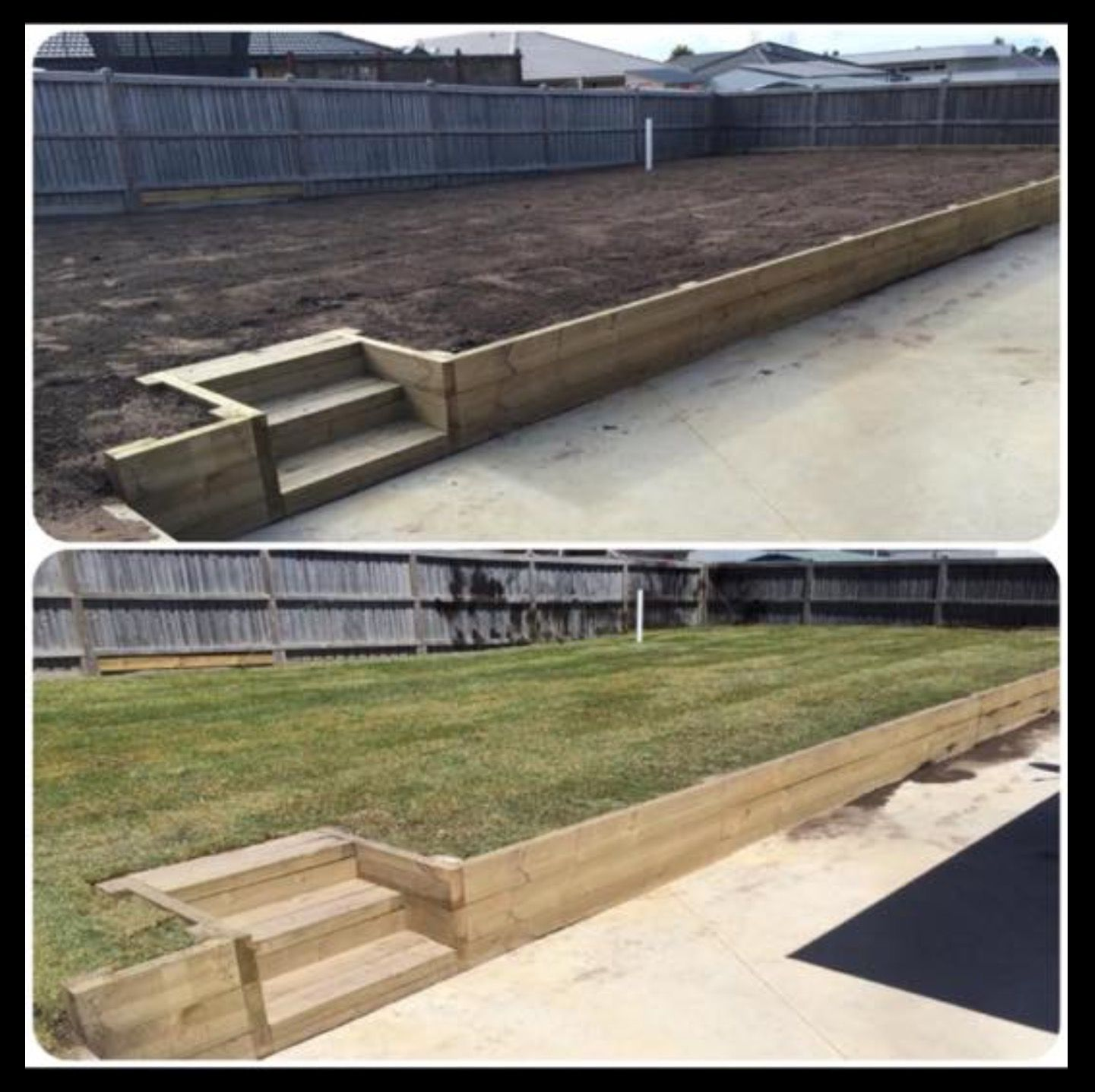 Best Step Up To This Raised Lawn Garden Made With Treated Pine 400 x 300