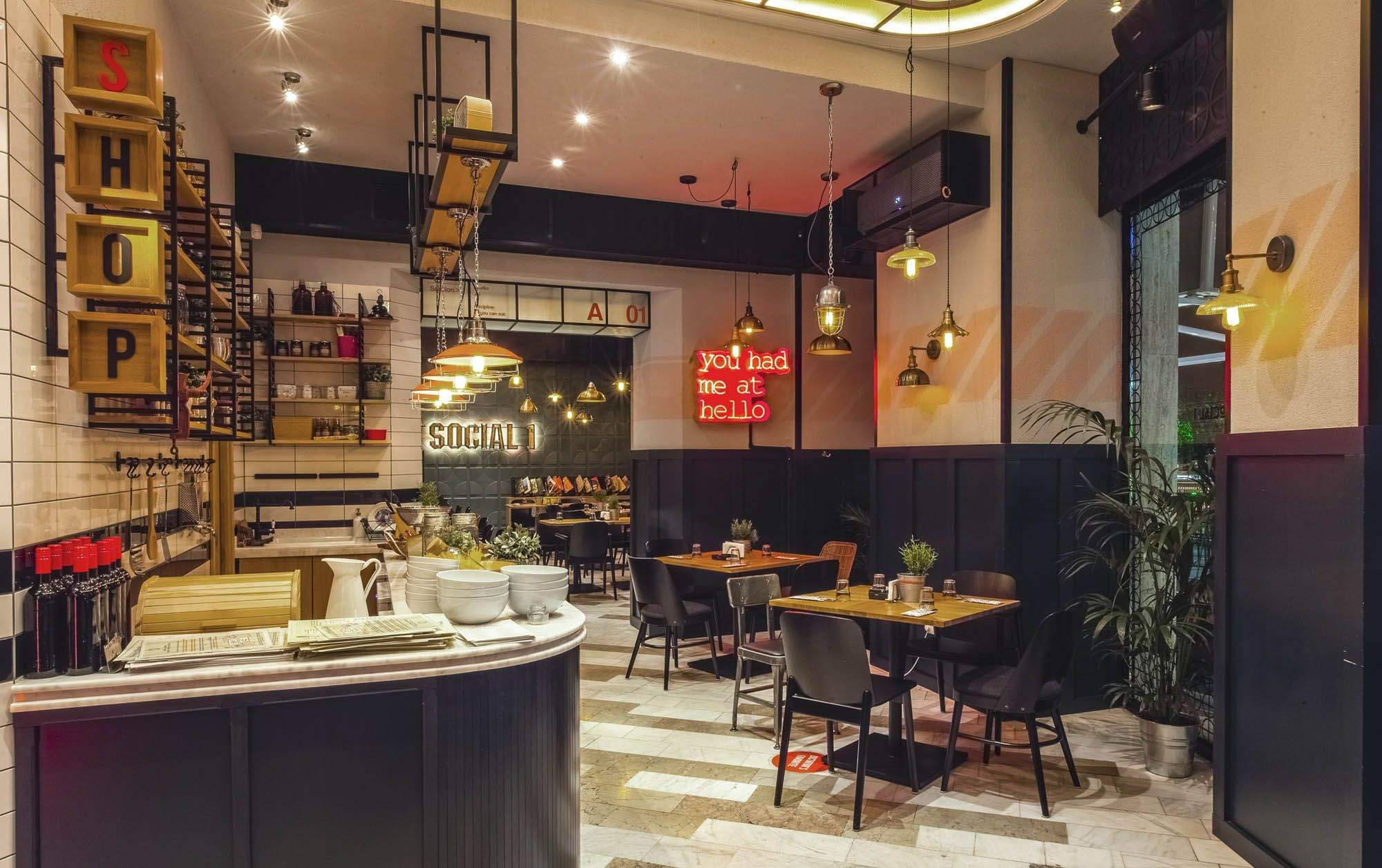 Restaurante Social1 / Picktwo