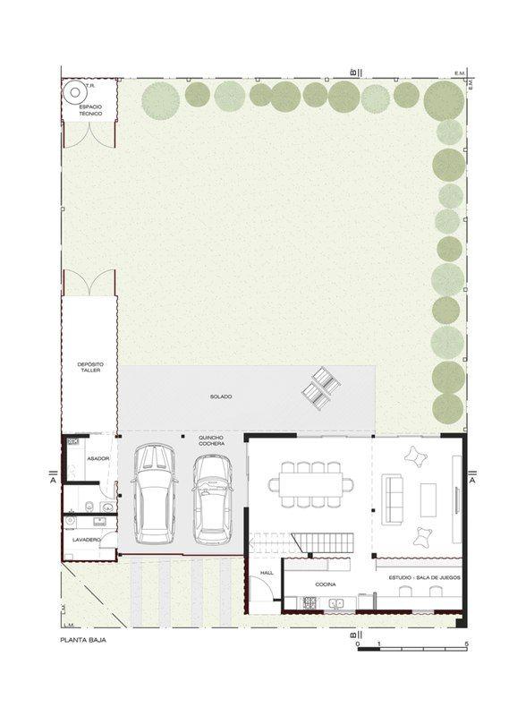 Maison contemporaine en containers dans la banlieue de Cordoba en - Plan De Construction D Une Maison