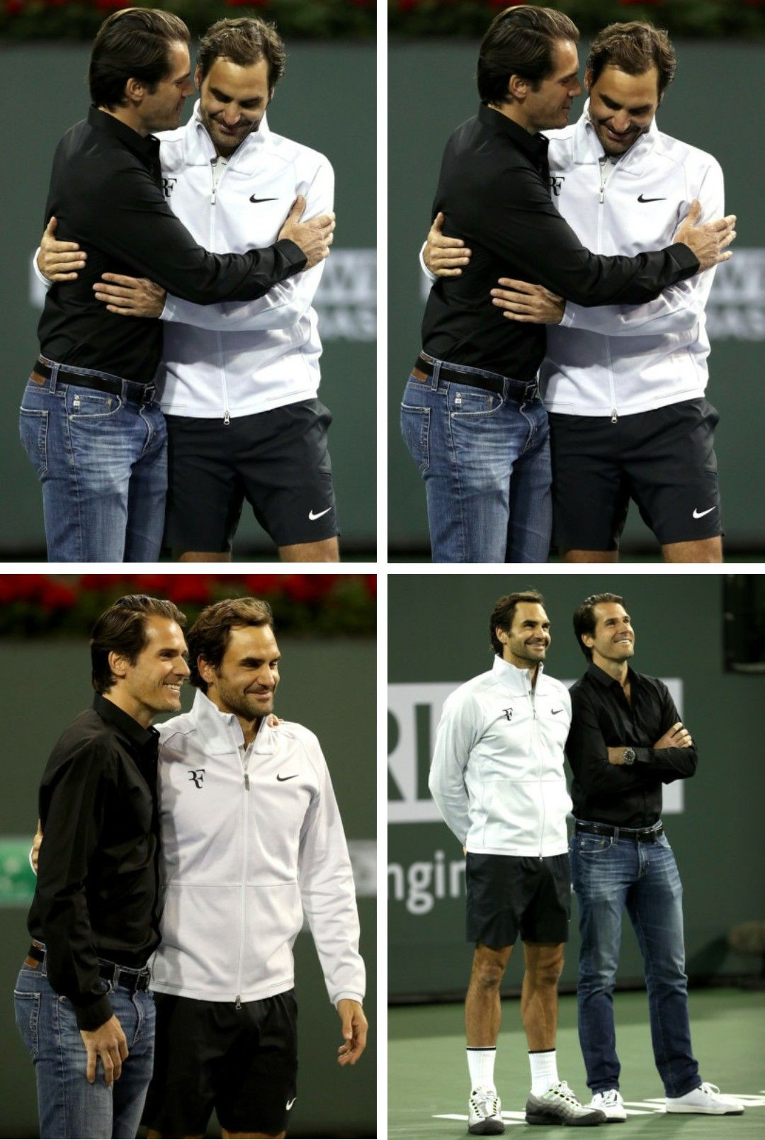 Roger Federer And Tommy Haas Tommy S Retirement 2018 Deportes