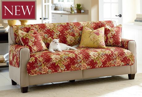 Sure Fit Slipcovers Ballad Bouquet by Waverly™ Furniture Cover