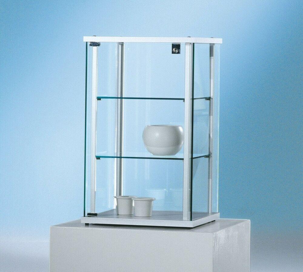 Glasvitrine Vitrine Klein Forum 4 Ganzglas Abschliessbar Galerie In 2020 Glasvitrine Vitrine Glas
